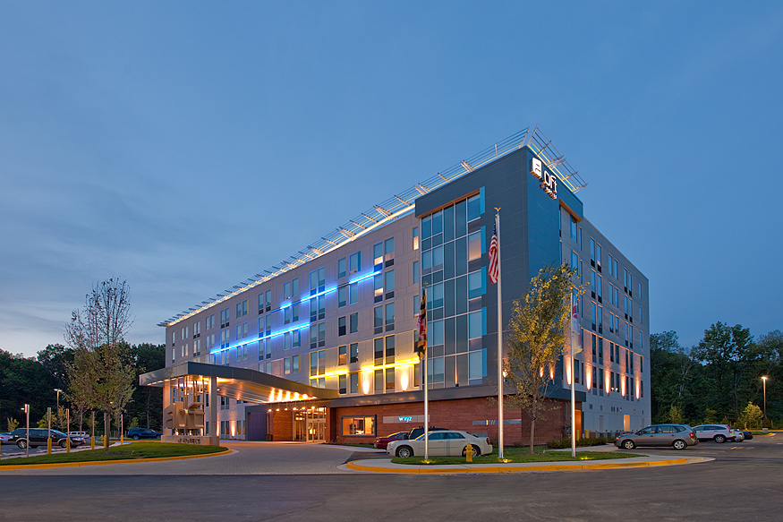 Aloft BWI Hotel by BPGS Construction