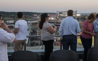 Rooftop bar The Hampton Inn & Suites DC Ballpark