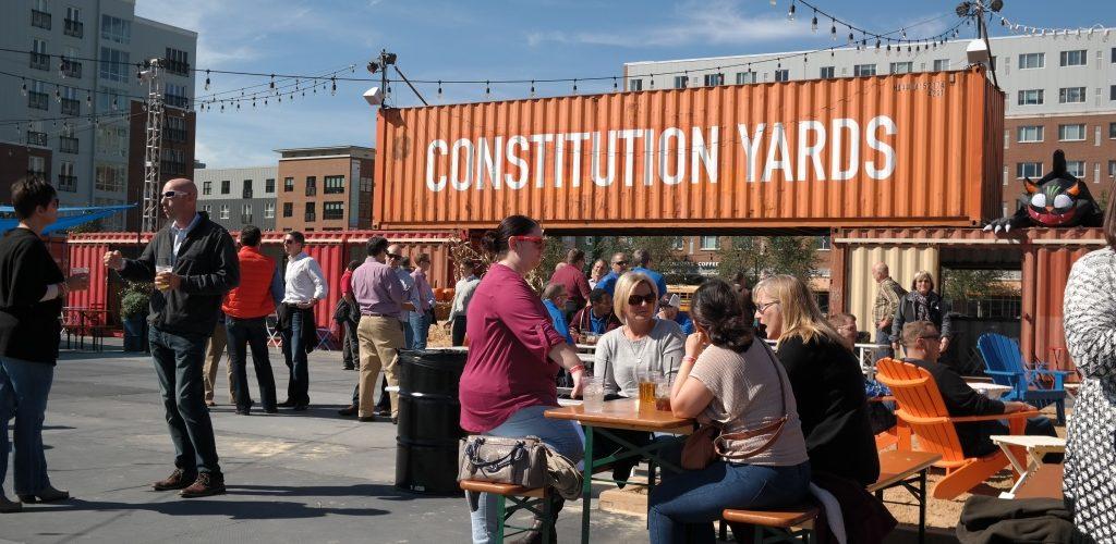 Constitution Yards Beer Garden BPG Company Picnic