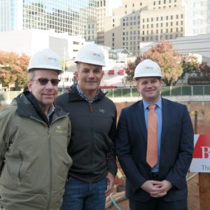 The Buccini/Pollin Group The Residences at Mid-town Park Bottoming Out Ceremony