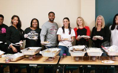 The Buccini Pollin Group helps serve at Reeds Refuge Wilmington, DE