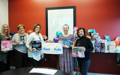 The Buccini/Pollin Group's Season of Giving and supporting Kind to Kids Foundation