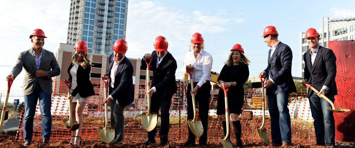 Virgin Hotels Nashville Groundbreaking Ceremony