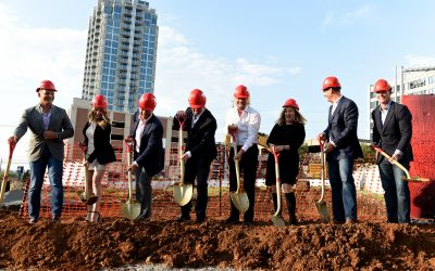 Virgin Hotels Nashville Groundbreaking Ceremony