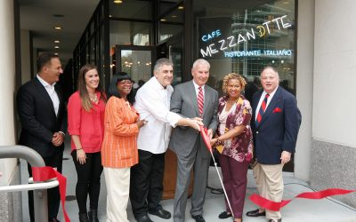 Cafe Mezzanotte Grand reopening wilmington de