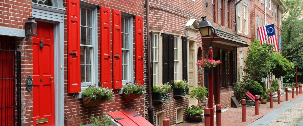 Philadelphia Elfreth's Alley Old City The Buccini/Pollin Group