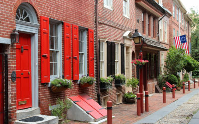 Philadelphia Elfreth's Alley Old City The Buccini/Pollin Group
