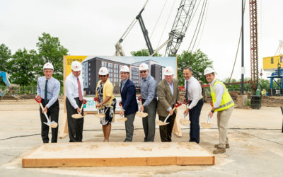 BPG Breaks ground on Homewood Suites by Hilton Hotel