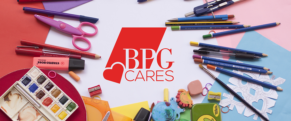 BPG Cares school supply drive