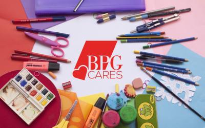BPG Cares school supply drive