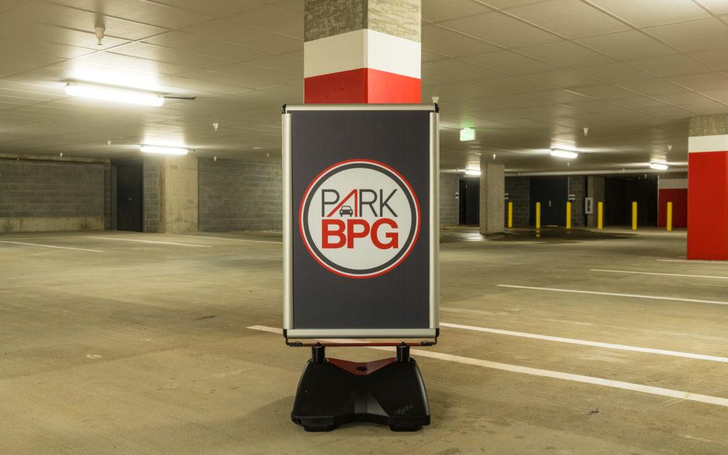 Mid-town park garage