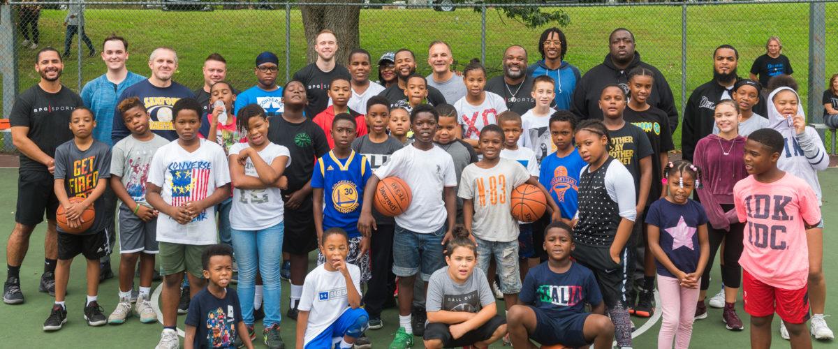 BPG SPORTS 76ers Fielhouse Free Clinic Wilmington de