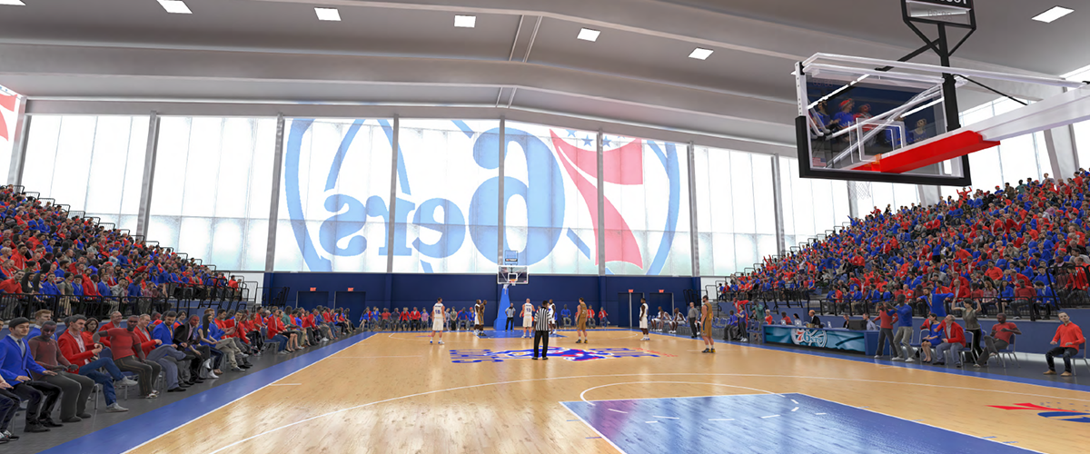 BPG SPORTS 76ers Fieldhouse