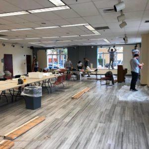 BPG Associates volunteer at Neighborhood House during Week of Service 2019