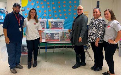 BPG Donates School Supplies to Lewis Elementary School