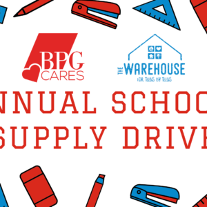 BPG Annual School Supply Drive 2020