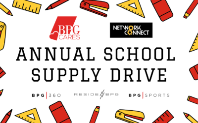 BPG Cares School Supply Drive Network Connect