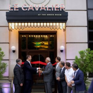 Le Cavalier at the Green Room Grand Opening